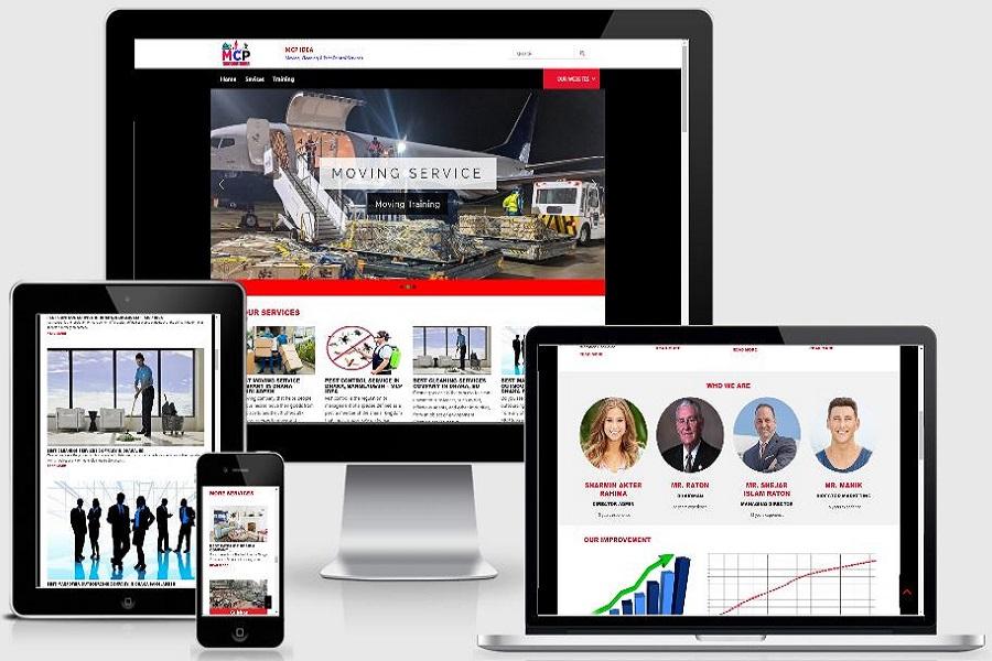 mcpidea.com website design