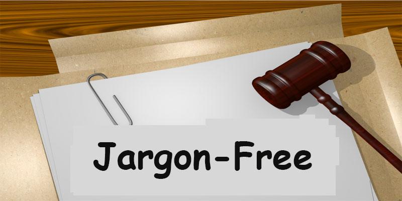 Jargon Free article
