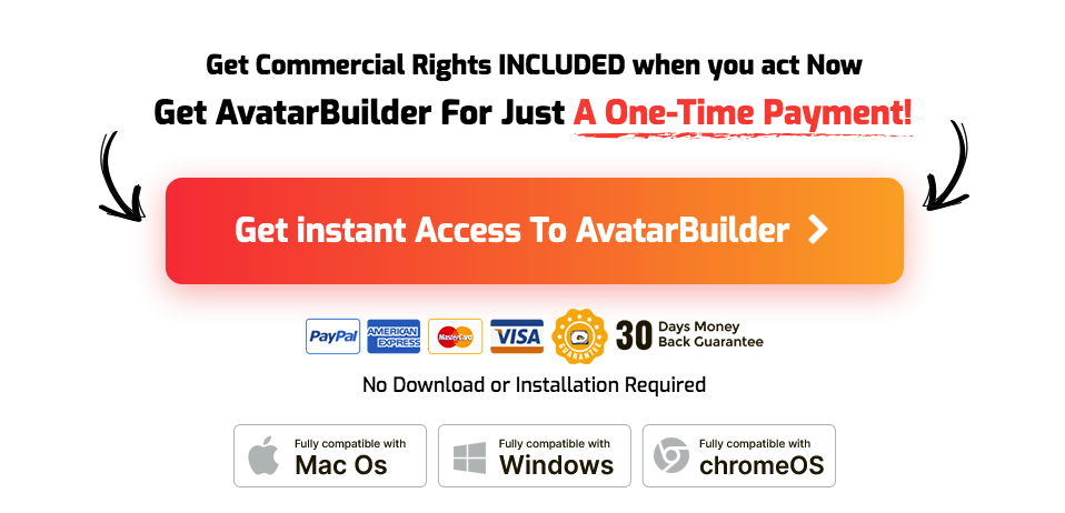AvatarBuilder one-time payment