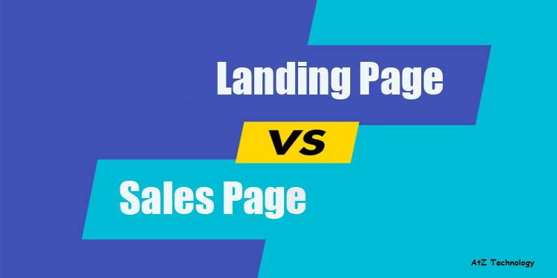 What is the Difference Between Landing Page and Sales Page?