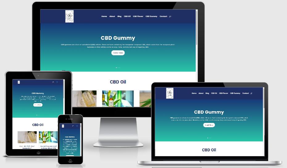 aaserene.com website design