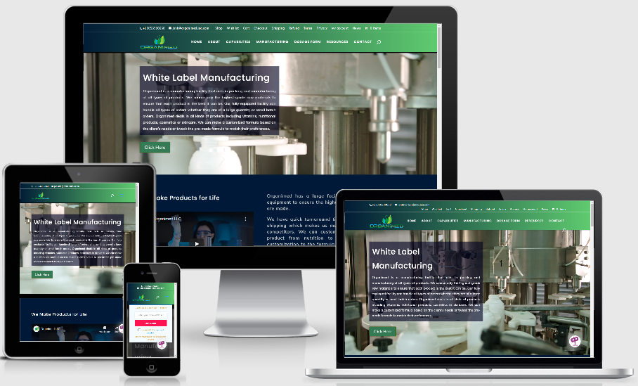 organimedusa.com website design