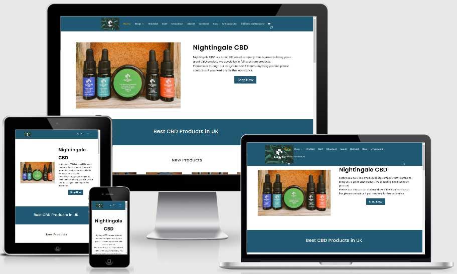 cbd website design company
