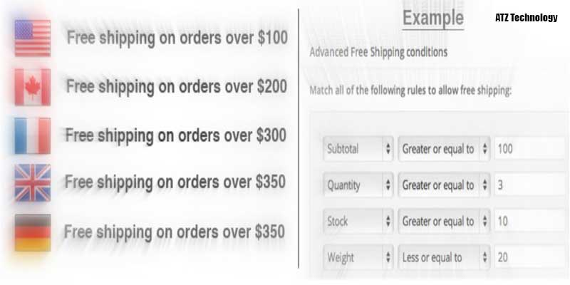 Woo-commerce Advanced Free Shipping