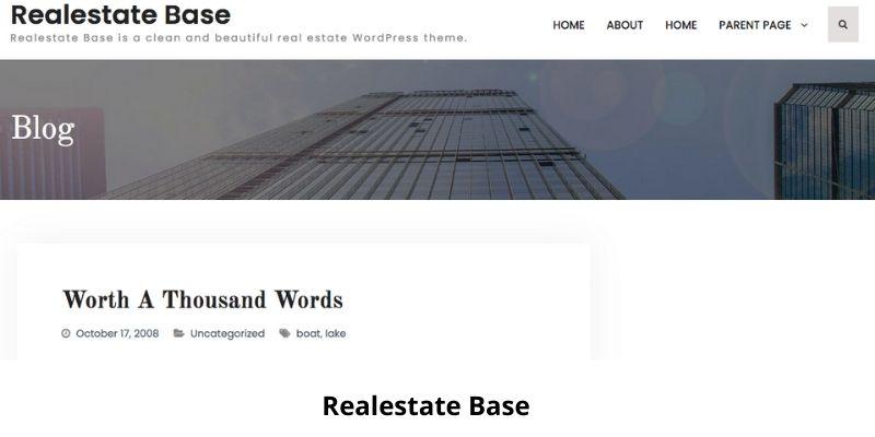 Realestate Base