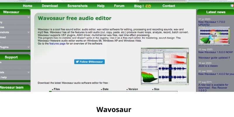 Wavosaur