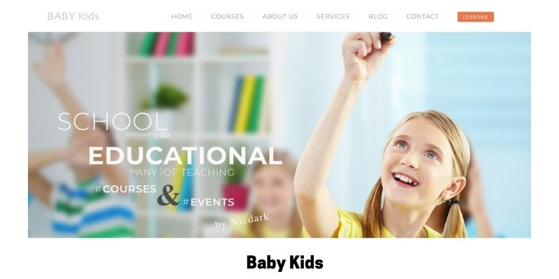 Baby Kids: Best Primary School WordPress Theme