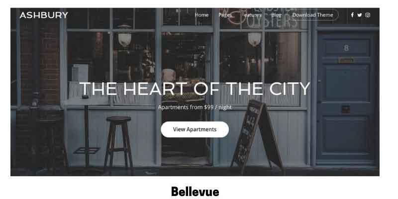 Bellevue: Best WordPress Theme for Elementor