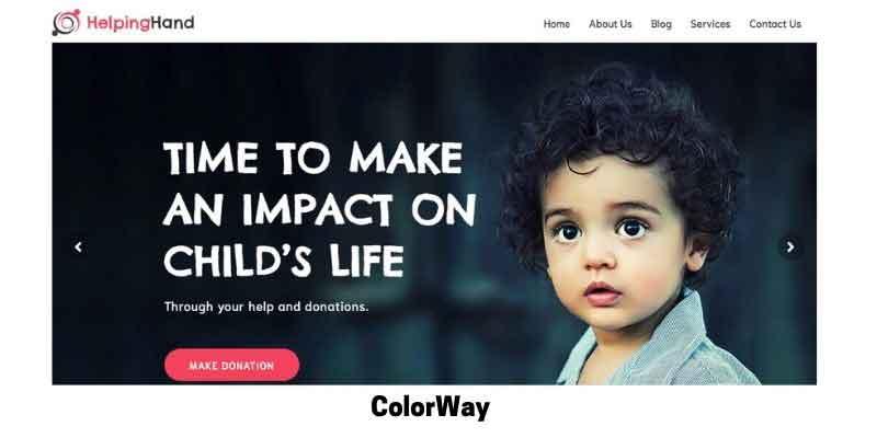 ColorWay: Best WordPress Theme for Elementor