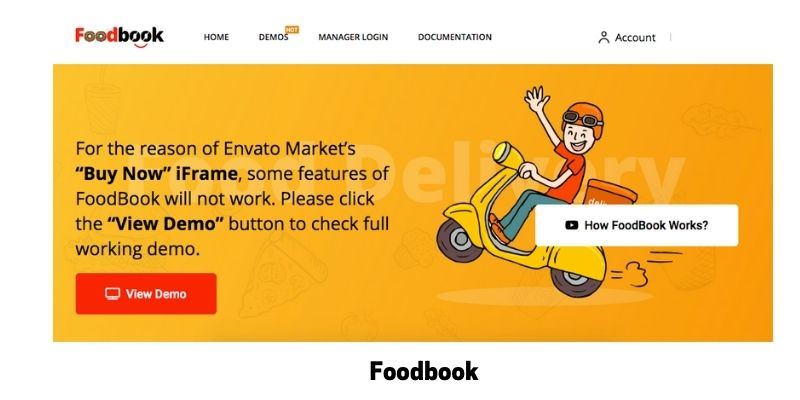 Foodbook: WordPress Restaurant Menu Plugin