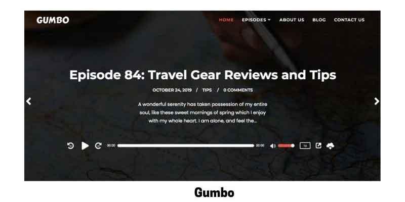 Gumbo: Best WordPress Theme for Elementor