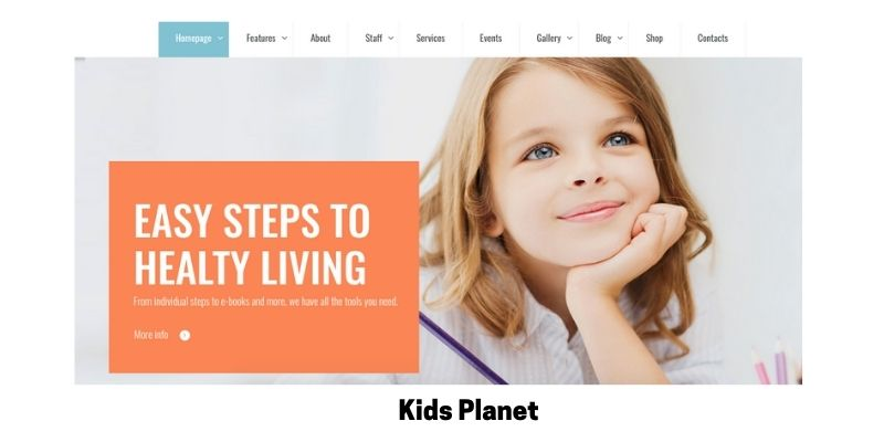 kids planet :Best Primary School WordPress Theme
