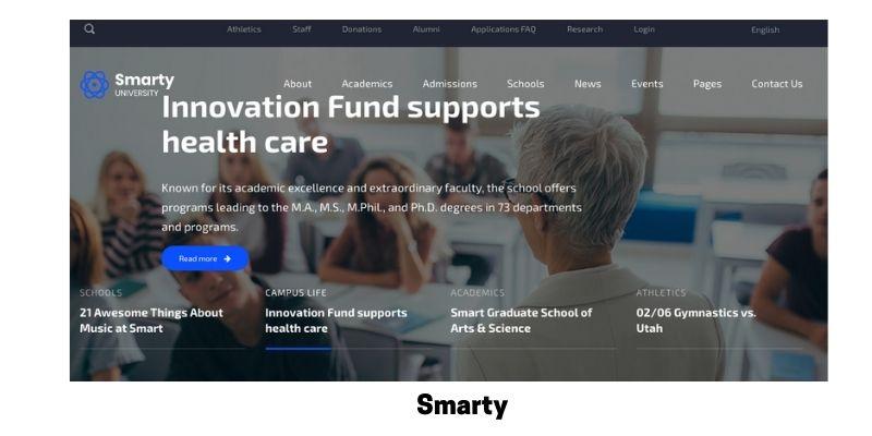Smarty: Best Primary School WordPress Theme