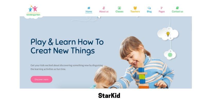 StarKid:Best Primary School WordPress Theme