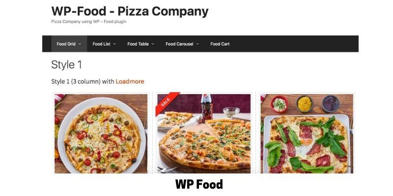 WP Food: WordPress Restaurant Menu Plugin