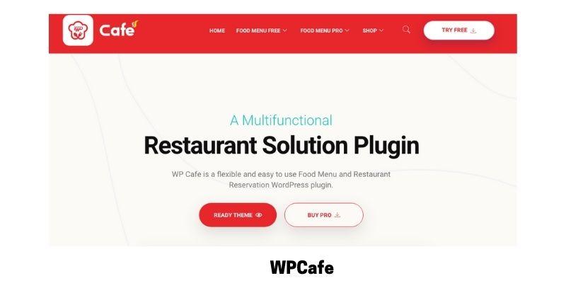 WPCafe: WordPress Restaurant Menu Plugin
