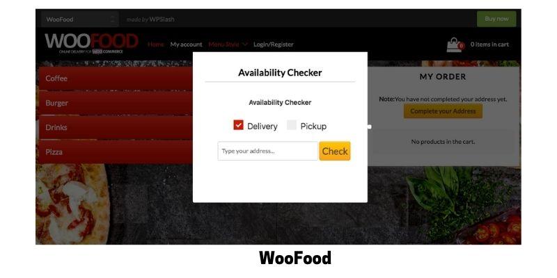 WooFood: WordPress Restaurant Menu Plugin