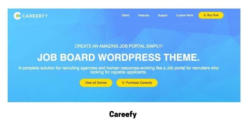 Careerfy: WordPress Theme for Job Site