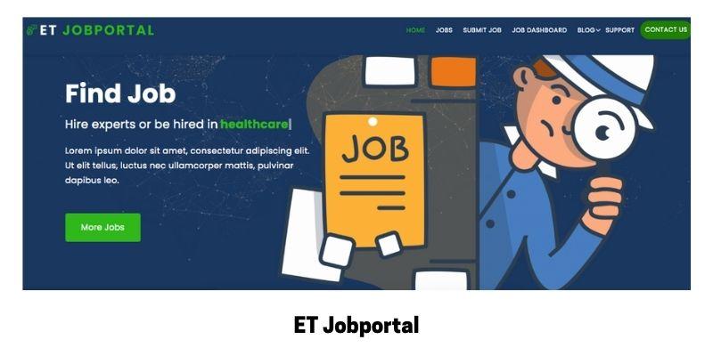 ET Job Portal: WordPress Theme for Job Site