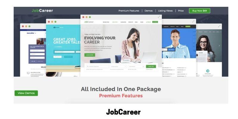 JobCareer:WordPress Theme for Job Site
