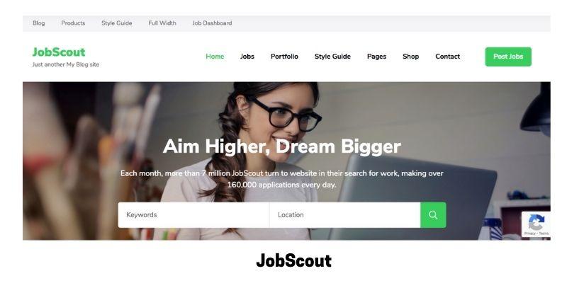 JobScout: WordPress Theme for Job Site
