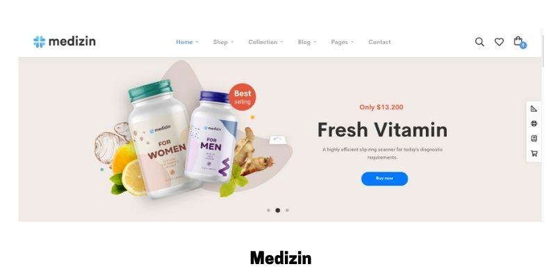 Medizin: Best Health Supplements WordPress Theme
