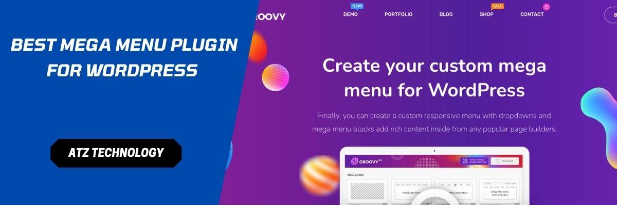 Mega Menu Plugin for WordPress
