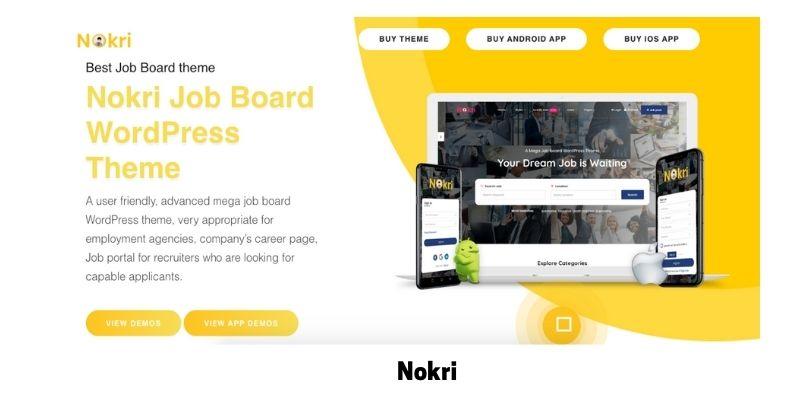 Nokri: WordPress Theme for Job Site