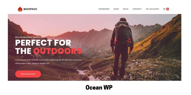 Ocean WP: Best Health Supplements WordPress Theme