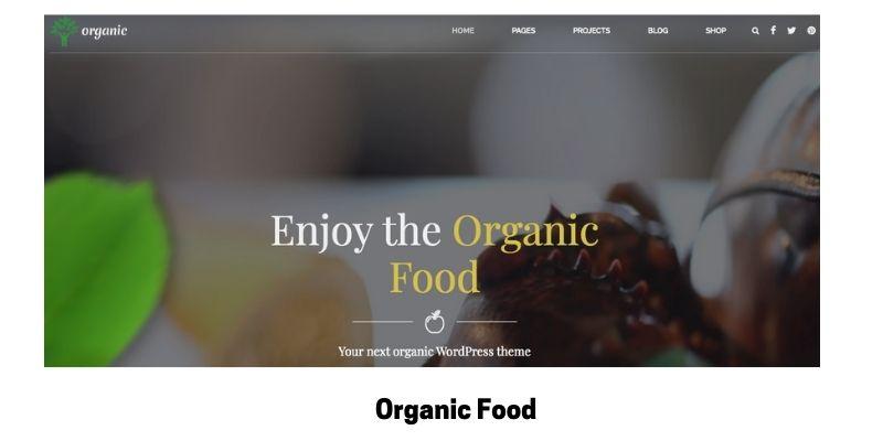 Organic Food: Best Health Supplements WordPress Theme