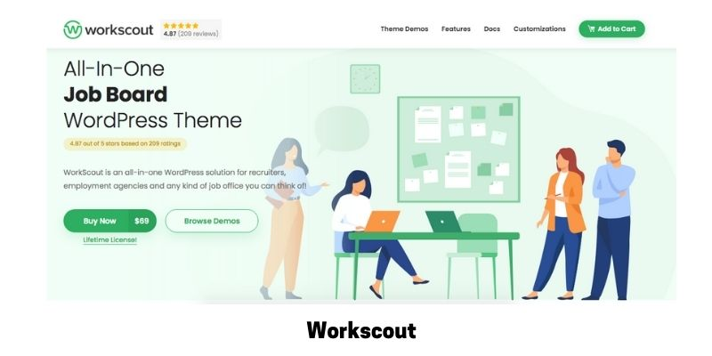WorkScout: WordPress Theme for Job Site