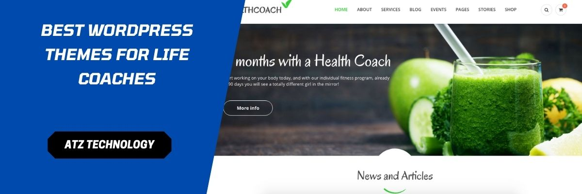 Best WordPress Themes for Life Coaches in 2021