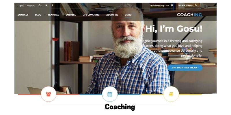 Coaching:Best WordPress Themes for Life Coaches