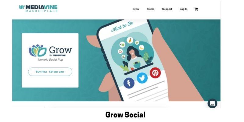 Grow Social: Best Social Media Plugin for WordPress
