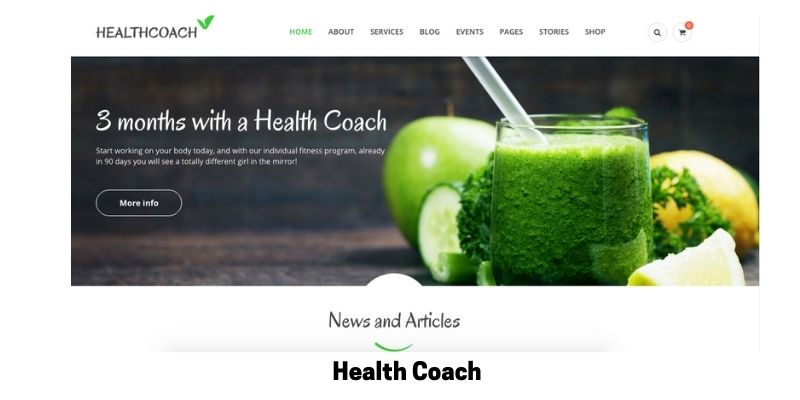 Health Coach: Best WordPress Themes for Life Coaches