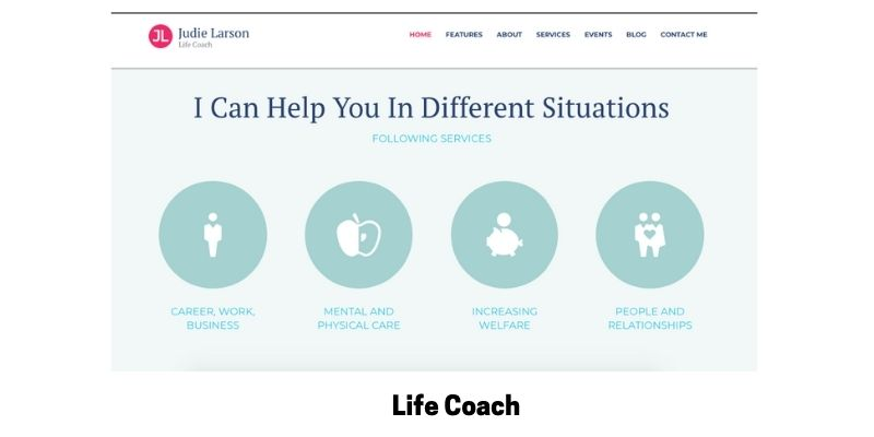 Life Coach: Best WordPress Themes for Life Coaches
