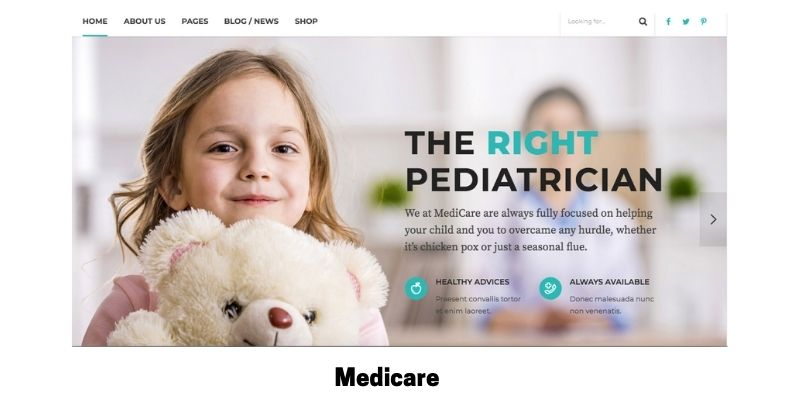 Medicare: What is the Best Medical WordPress Theme