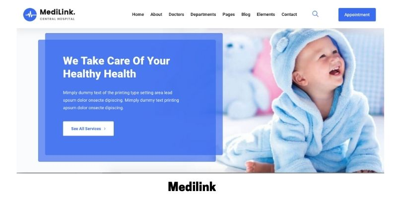 Medilink: What is the Best Medical WordPress Theme