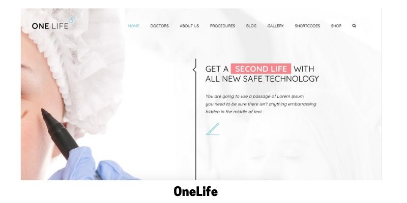 OneLife: What is the Best Medical WordPress Theme