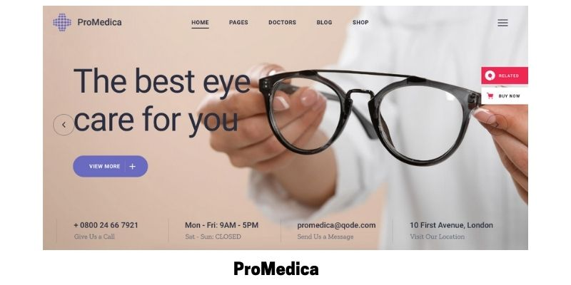 ProMedica: What is the Best Medical WordPress Theme